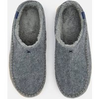 Felt Mule Slip On Slippers With Hard Sole