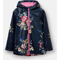 Anniversary Floral Raindance Showerproof Rubber Coat 1-12 Years  Size 7Yr-8Yr