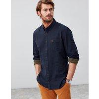 Halbert Long Sleeve Classic Fit Textured Shirt