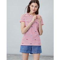 SUNGLASSES Nessa print Lightweight Jersey T-Shirt  Size 16