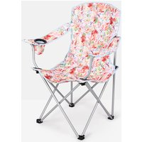 WHITE FLORAL Printed Picnic Chair  Size One Size