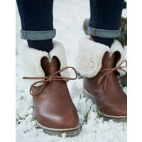 Heybrook Shearling Cuff Fold Over Boot