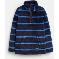 Navy Stripe Woozle Fleece 1-12 Years  Size 7Yr-8Yr