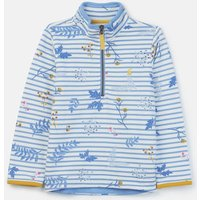 Blue Sprig Stripe Fairdale Half Zip Sweatshirt 3-12 Years