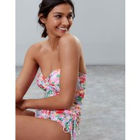 WHITE FLORAL MEADOW Delphine One Piece Swimsuit  Size 10