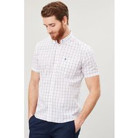 Wilson Short Sleeve Classic Fit Check Shirt