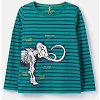 Green Mammoth Raymond Glow In The Dark T-Shirt 3-12 Years  Size 11Yr-12Yr