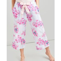 BLUE STRIPE FLORAL Felicity 3/4 Length Pj Bottoms  Size 14