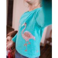 Turquoise Chloe Cross Back Sweatshirt 3-12 Yr  Size 11Yr-12Yr