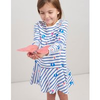 Cream Stripe Glitter Bugs Josie Jersey Printed Dress 1-6 Yr  Size 6Yr