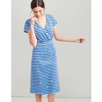 BLUE PEAR STRIPE Jude Jersey Wrap Dress  Size 16