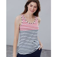 Cream Red Blue Stripe Bo Stripe Jersey Vest  Size 20