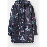 204511 Printed Waterproof Packaway Coat