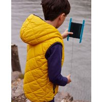 Jonah Quilted Hooded Gilet 1-12 Years