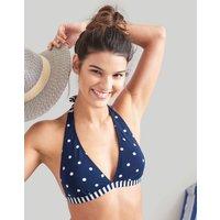 NAVY SPOT Coraline Halterneck Bikini Top  Size 10
