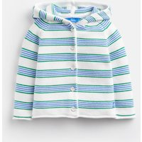 Blue Green Stripe Vince Knitted Cardigan  Size 18M-24M