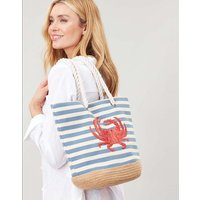 Tenby Canvas Espadrille Bag