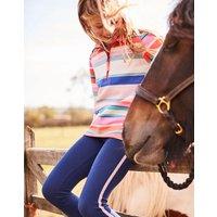 Pink Multi Stripe Fairdale Half Zip Sweatshirt 3-12 Yr  Size 7Yr-8Yr