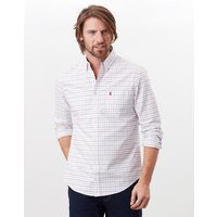 Welford Long Sleeve Classic Fit Check Shirt