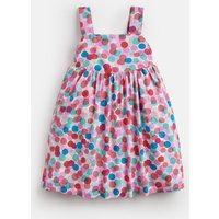 MULTI FAIRY SPOT Joy Woven Printed Dress 1-6 Yr  Size 1yr