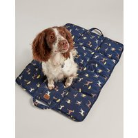 Coastal Dog Print Coastal Travel Pet Bed  Size One Size