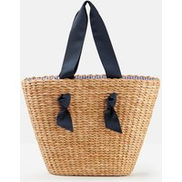 Natural Albury Woven Straw Large Shopper  Size One Size
