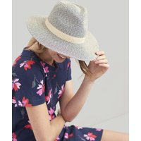 NATURAL Dora Fedora Sun Hat  Size One Size