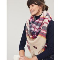 Heyford Oversized Square Check Scarf