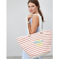 Red Sunshine Seaside Summer Beach Bag  Size One Size