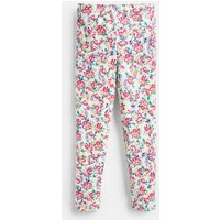 White Ditsy Deedee Printed Leggings 3-12 Years  Size 4Yr