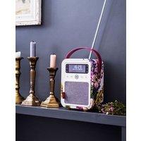 Vq Monty Cambridge Floral Dab Digital Radio And Bluetooth Speaker