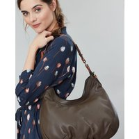 Aldbury Carriage Leather Hobo Bag
