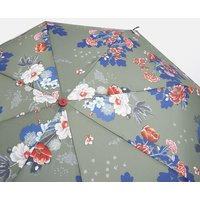 GREEN FLORAL Fulton minilite Green Floral Ladies Umbrella  Size One Size