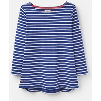 204534 3/4 Length Sleeve Jersey Striped Top