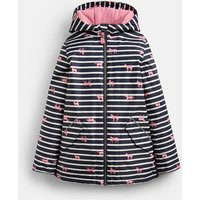 Pink Stripe Horse Raindrop Waterproof School Coat 3-12 Years  Size 6Yr