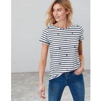 Summer Bee Nessa Print Lightweight Jersey T-Shirt  Size 16