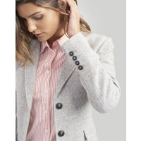 GREY TWEED Wiscombe Tweed Blazer  Size 12