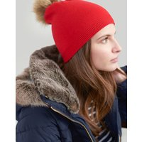 Snowday Lightweight Pop-a-pom Beanie Hat