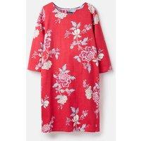Pink Chinoise 206925 Printed Jersey Dress  Size 18