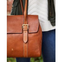 TAN Durham Leather Tote  Size One Size