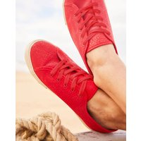 Red Coast Pump Canvas Lace Up Trainers  Size Adult Size 7