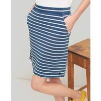 BLUE STRIPE Portia Jersey Skirt  Size 16