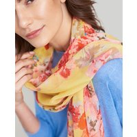 Lemon Floral Wensley Printed Scarf  Size One Size