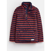 French Navy And Red Stripe 203948 Fleece  Size 4Yr