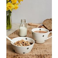 Set Of 4 Fine China Cereal Bowls