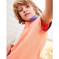 Orange Woody Polo Shirt 1-12 Yr  Size 4Yr