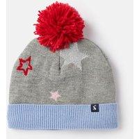 Grey Star Halley Star Intarsia Hat  Size 8Yr-12Yr