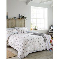 Creme Dogs Garden Dogs Duvet Cover  Size Single