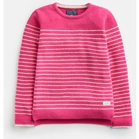 BRIGHT PINK STRIPE 203933 Chenille Jumper
