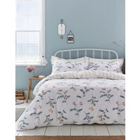CREAM GREEN FLORAL Swanton floral Duvet Cover  Size Single